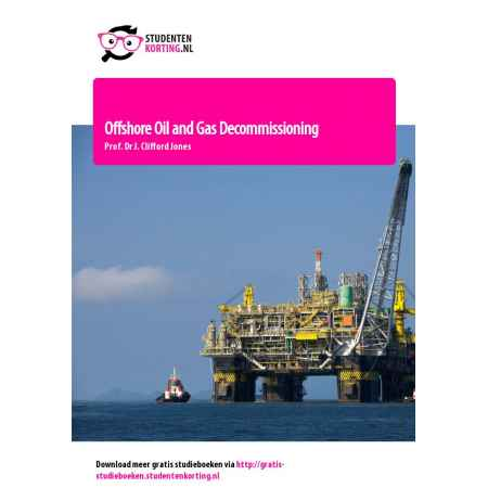 Offshore Oil and Gas Decommissioning