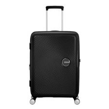 American Tourister Soundbox Spinner 67 Expandable bass black Harde Koffer